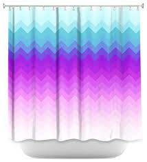 Pastel Purple Curtains Shower Curtain Unique From Dianoche Designs Pastel Ombre Chevron