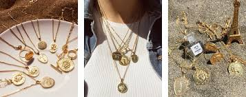 gold pendant fashion necklace images Where to get the quot vintage quot gold necklaces you 39 re seeing on jpg