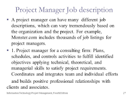 Job Desk Project Manager Chapter 1 Introduction To Project Management Information