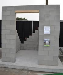 Cement House Plans Masonry Concrete Block Tornado Safe Room Youtube