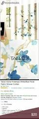 Tahari Home Drapes by 17 Best Bathroom Decor Images On Pinterest Fabric Shower