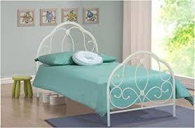3ft single metal bed white alexis model bedroom furniture amazon