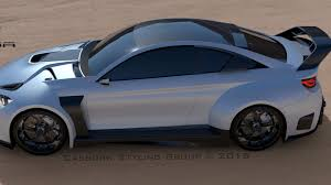 modified bmw m4 tuner working on radical bmw m4 gt3 street with 710 hp