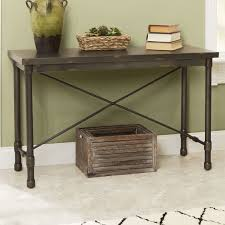 Industrial Console Table Trent Design Selena Industrial Console Table Reviews