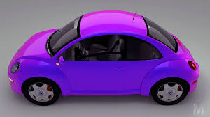 volkswagen purple artstation volkswagen beetle 2005 animated borja barbeito
