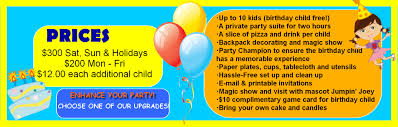 best indoor birthday party center in miami jump a roos