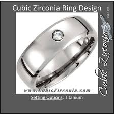 Men Wedding Ring by Cubic Zirconia Cz Men U0027s Wedding Bands