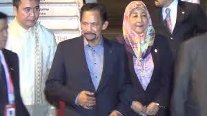 sultan hassanal bolkiah son brunei u0027s sultan bolkiah arrives in ph for apec youtube