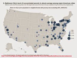 Chicago Poverty Map by Mapping For Justice Big City Poverty Baltimore Not Alone