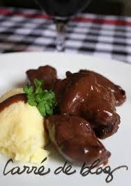 recette de cuisine civet de chevreuil civet de chevreuil grand veneur