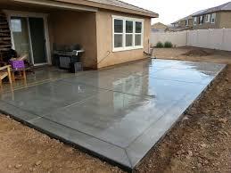 Backyard Concrete Ideas Best 25 Concrete Patio Ideas On Pinterest Stamped Concrete