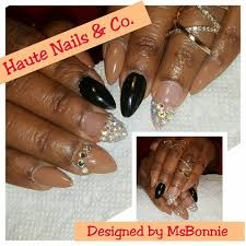 the original chrome on long nails yelp