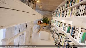 modern home library study area interior design ideas