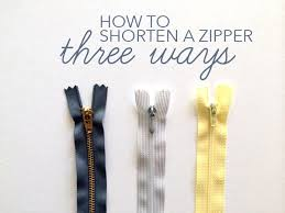 How To Make A Cushion With Zip How To Shorten A Zipper Three Ways On The Craftsy Blog