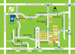 Race Map Miles For Moffitt Race Course And Parking Map