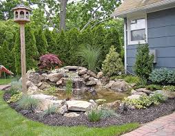 Rock Backyard Landscaping Ideas Picturesque Landscaping With Rocks Design For Or Our Home Exterior