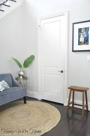 How To Paint An Interior Door by Black Gray Painted Interior Doors Honey We U0027re Home