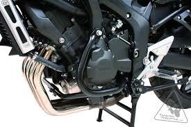 sw motech crash bars engine guards for yamaha fz6 u002704 u002710