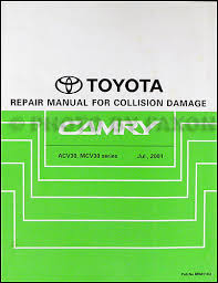 2002 toyota camry service manual 2002 2004 toyota camry collision repair shop manual original