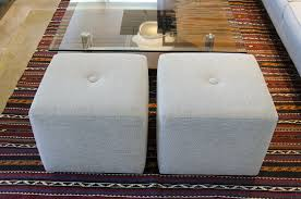 Ottoman S by Contemporary Cube Ottomans Customize At Five Elements Five