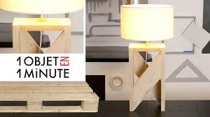 Lampe Deco Design 1 Objet En 1 Minute Episode 2 Idée Déco Fabrique Une Lampe