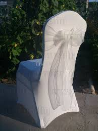 spandex chair sash wholesale white spandex chair covers white organza chair sashes