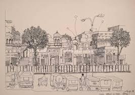 divya agrawal u0027s sketches and words bring jaipur alive