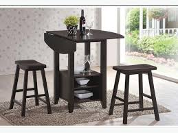Jysk Bar Table Jysk Koge Dining Set 4 Chairs Stools 1 Table Espresso Wood East