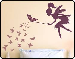 fairy wall decals for nursery color the walls of your house fairy wall decals for nursery butterfly fairy with butterfly wand vinyl wall by wallcrafters