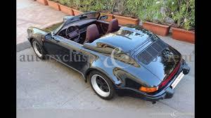 1989 porsche speedster for sale porsche 911 speedster turbo look youtube