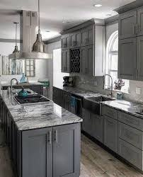 grey kitchen decor ideas 41 grey elements for home give you peaceful feelings