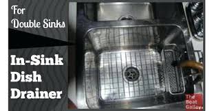 dish drainer for small side of sink small in sink dish drainer stainless steel dual purpose dish rack