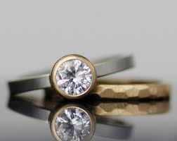 contemporary wedding rings uncommon jewelry modern wedding rings forged by by lolide