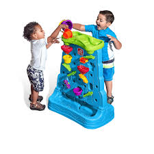 double the playtime fun with the waterfall discovery wall by step2