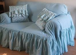 country slipcovers shabby chic with blue color ideas home