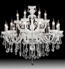 Luxury Candle Crystal Chandelier Lighting  Montreal Crystal - Crystal chandelier dining room