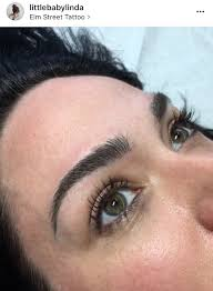 eyebrow feathering tattoo google search eyebrows pinterest