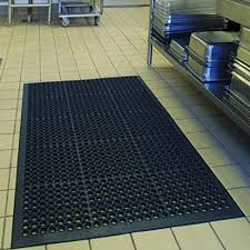amazon com anti fatigue rubber floor mats for kitchen bar new