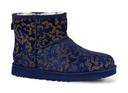 womens navy boots australia ugg australia mini metallic conifer navy womens boot