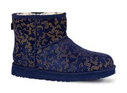 navy blue womens boots australia ugg australia mini metallic conifer navy womens boot