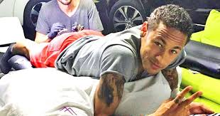neymar u0027s new tattoo is surprisingly beautiful and poignant pics