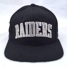 los angeles raiders nfl football snapback cap starter 100 wool