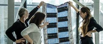 Solar Panel Curtains Inside Outside Designs Solar Curtain In Textile Lab