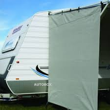Caravan Rollout Awnings Camec Caravan Privacy Screen End Wall 2100 X 2050 Sun Shade Awning