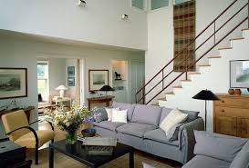 creative living room with stairs with minimalist interior home
