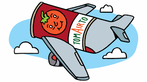 why do people drink so much tomato juice on airplanes la times