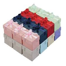gift boxes with bow a a jewelry supply ring gift boxes colorful floral bow tie