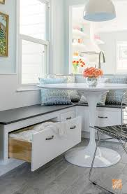 best 10 custom kitchens ideas on pinterest custom kitchen this custom kitchen banquette provides comfortable seating and extra storage it also opened up some