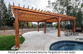 How To Build A Pergola Attached To House by Pergola Kits Usa Com