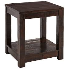 Accent Table L Parsons Tobacco Brown End Table Pier 1 Imports